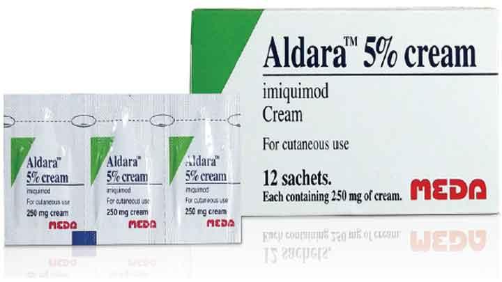 Aldara 5% Cream: công dụng, chỉ định, cách dùng và tác dụng phụ
