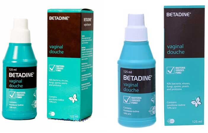 Betadine phụ khoa - Betadine xanh - Cách dùng & chống chỉ định