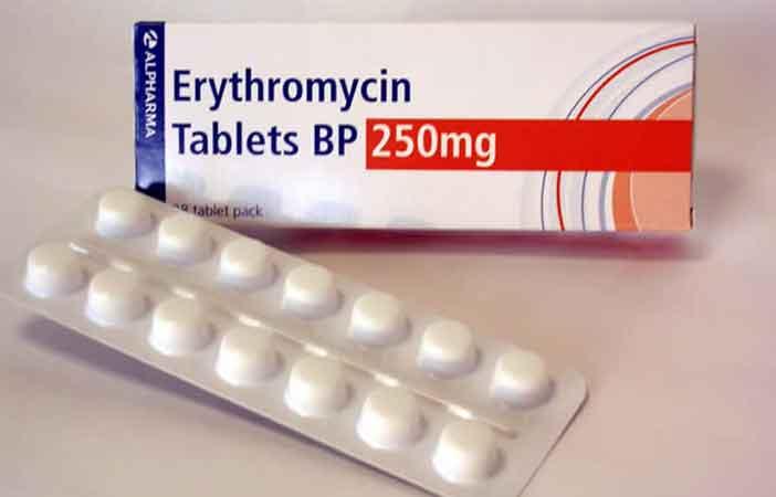 Erythromycin - Tác dụng, chỉ định, liều dùng, dược lực, quy chế