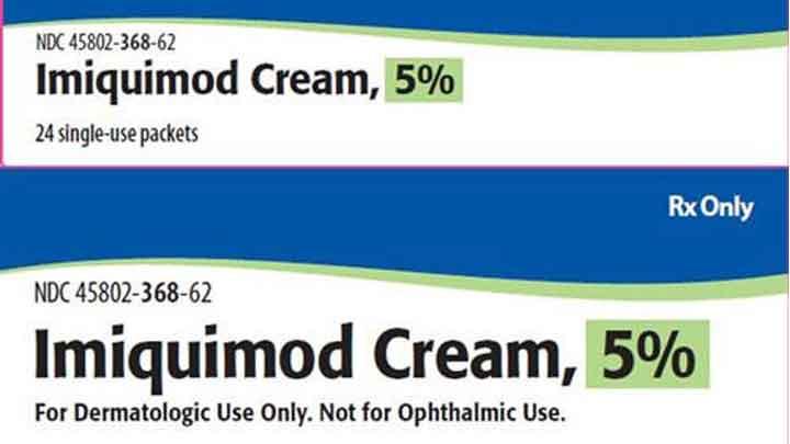 Imiquimod 5%: chỉ định, cách sử dụng & tác dụng phụ