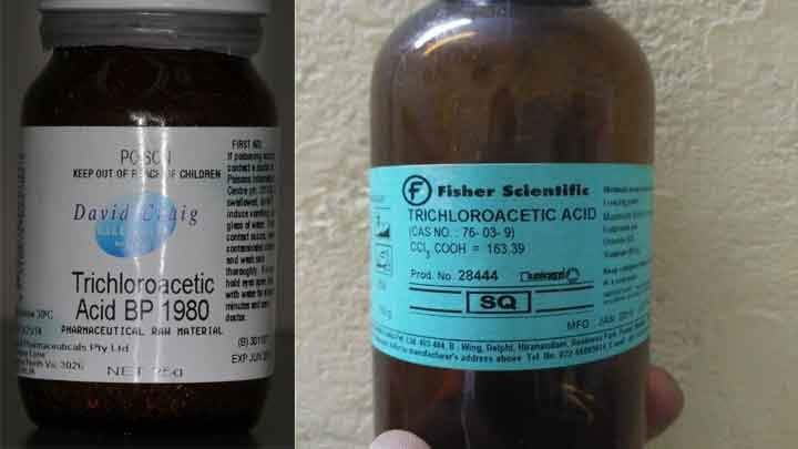 Trichloracetic Acid là gì? mua ở đâu? hướng dẫn sử dụng hiệu quả